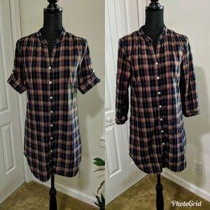 L.O.G.G. by H&M plaids shirt dress